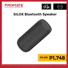 Promate SILOX Wireless Hi-Fi Stereo Speaker with Handsfree Function for Outdoor & Indoor
