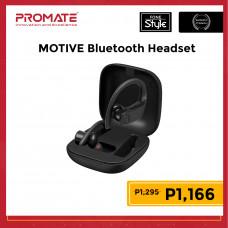 Promate MOTIVE Flexible Secure Fit True Wireless Stereo Sporty Earphones