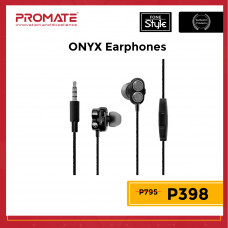Promate ONYX Bass Boost Dual Driver In-Ear Earphones