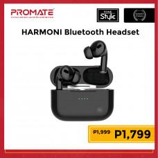 Promate HARMONI High Definition IntelliTouch TWS Earphone