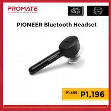 Promate PIONEER Universal Mono Wireless Earphone with Charging Dock