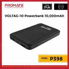 Promate VolTag-10 10000mAh Ultra-Fast Lithium Polymer Power Bank