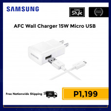 Samsung TA Adaptive Fast Charging 15W Wall Charger US Plug with Micro USB Cable