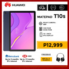 Huawei Matepad T10s 10.1-inch Tablet 64GB Storage