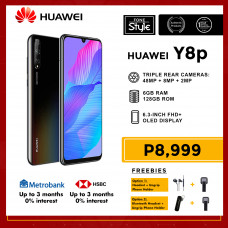 Huawei Y8P Mobile Phone 6.3-inch Screen 6GB RAM and 128GB Storage