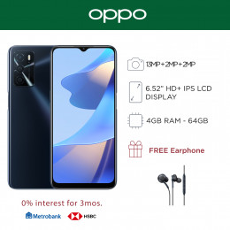 Oppo A16 Mobile Phone 6.52-inch Screen 4GB RAM and 64GB Storage