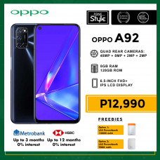 Oppo A92 Mobile Phone 6.5-inch Screen 8GB RAM and 128GB Storage