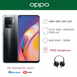 Oppo A94 Mobile Phone 6.43-inch Screen 8GB RAM and 128GB Storage