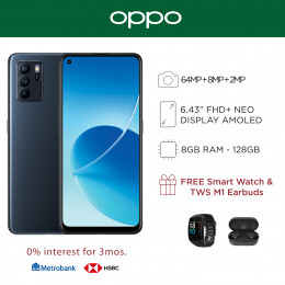 Oppo Reno 6 Z Mobile Phone 6.43-inch Screen 8GB RAM and 128GB Storage