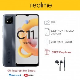 Realme C11 2021 Mobile Phone 6.5-inch Screen 2GB RAM and 32GB Storage