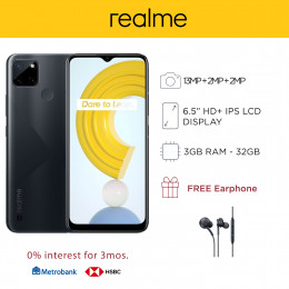 Realme C21Y Mobile Phone 6.5-inch Screen 3GB RAM and 32GB Storage