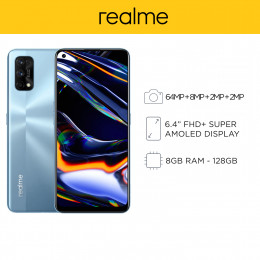 Realme 7 Pro Mobile Phone 6.4-inch Screen 8GB RAM and 128GB Storage
