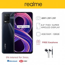 Realme 8 5G Mobile Phone 6.5-inch Screen 4GB RAM and 128GB Storage