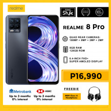 Realme 8 Pro Mobile Phone 6.4-inch Screen 8GB RAM and 128GB Storage