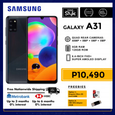 Samsung Galaxy A31 Mobile Phone 6.4-inch Screen 6GB RAM and 128GB Storage