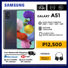Samsung Galaxy A51 Mobile Phone 6.5-inch Screen 8GB RAM and 128GB Storage