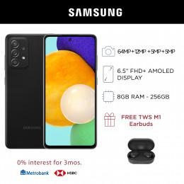 Samsung Galaxy A52 5G Mobile Phone 6.5-inch Screen 8GB RAM and 256GB Storage