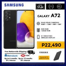 Samsung Galaxy A72 Mobile Phone 6.7-inch Screen 8GB RAM and 128GB Storage