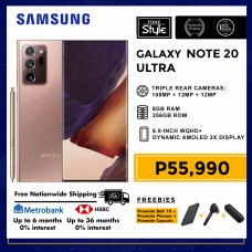 Samsung Galaxy Note 20 Ultra LTE Mobile Phone 6.9-inch Screen 8GB RAM and 256GB Storage