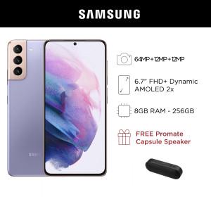 Samsung Galaxy S21+ 5G Mobile Phone 6.7-inch Screen 8GB RAM and 256GB Storage
