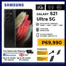 Samsung Galaxy S21 Ultra 5G Mobile Phone 6.8-inch Screen 12GB RAM and 256GB Storage