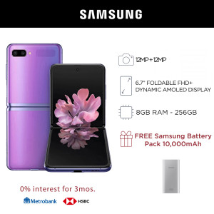 Samsung Galaxy Z Flip 6.7-inch Mobile Phone 256GB Storage