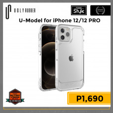 Ugly Rubber U-Model for iPhone 12/12 Pro