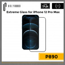 Ugly Rubber Extreme Glass for iPhone 12 Pro Max