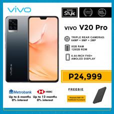 Vivo V20 Pro Mobile Phone 6.44-inch Screen 8GB RAM and 128GB Storage