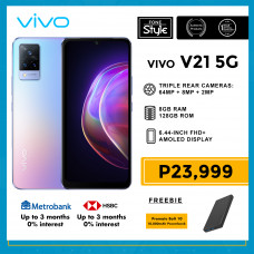 Vivo V21 5G Mobile Phone 6.44-inch Screen 8GB RAM and 128GB Storage
