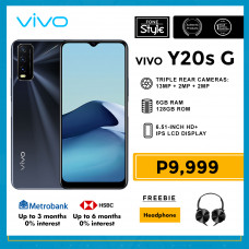 Vivo Y20s G Mobile Phone 6.51-inch Screen 6GB RAM and 128GB Storage