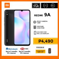 Xiaomi Redmi 9A Mobile Phone 6.53-inch Screen 2GB RAM and 32GB Storage